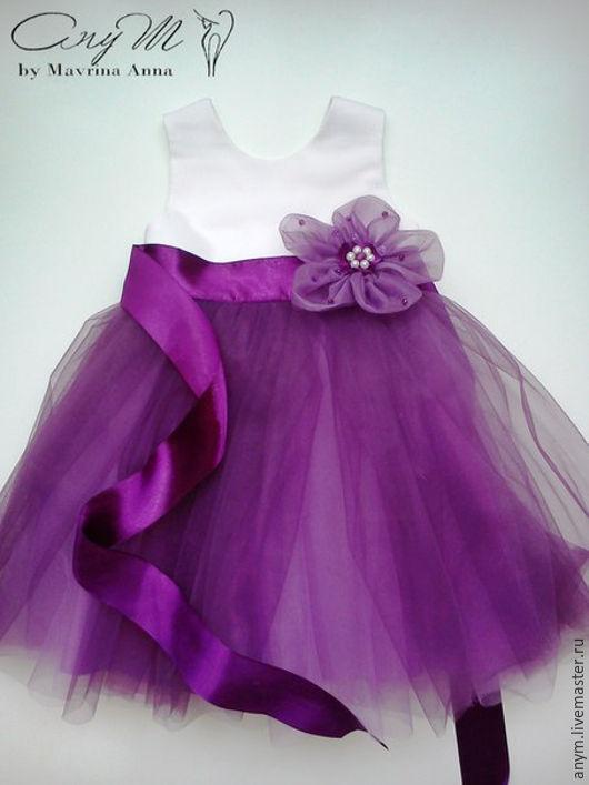 Платье `Сирень`