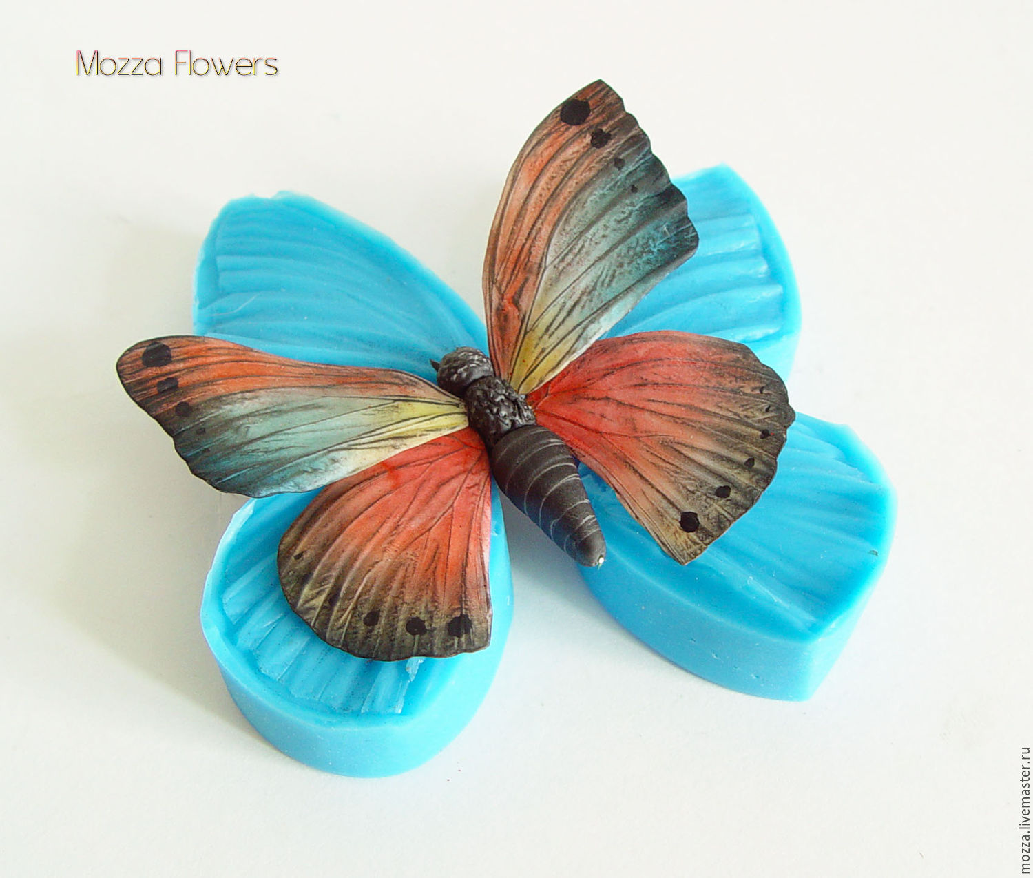 Silicone mold 'butterfly Wings ', Molds for making flowers, Zarechny,  Фото №1