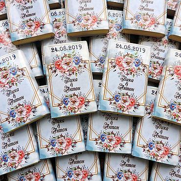 """Свадебный салон ручной работы. Ярмарка Мастеров - ручная работа Свадебный шоколад """"Бонбоньерка"""". Handmade."""