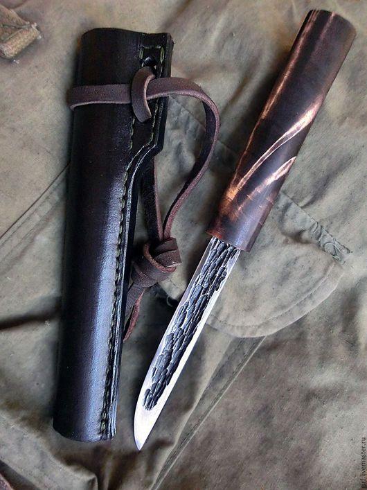 Оружие ручной работы. Ярмарка Мастеров - ручная работа. Купить Нож, якутский, эвенкийский, из стали ШХ-15, ручная ковка. Handmade.