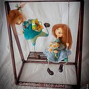 Куклы и игрушки ручной работы. Ярмарка Мастеров - ручная работа Подружки-ватрушки. Handmade.