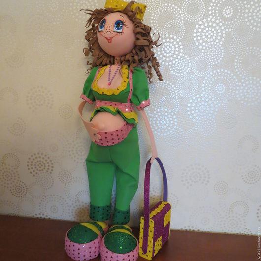 Человечки ручной работы. Ярмарка Мастеров - ручная работа. Купить Беременная кукла. Handmade. Беременная кукла, беременяшка