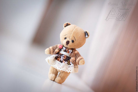 мишка тедди Сьюзи от мира Воображариум-анви. Подарок для вас и ваших близких