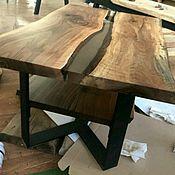 Столы ручной работы. Ярмарка Мастеров - ручная работа Стол из массива. Handmade.