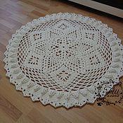 Для дома и интерьера handmade. Livemaster - original item Knitted carpet