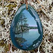 "Украшения handmade. Livemaster - original item Necklace ""The Sorcerer Lake"". Handmade."