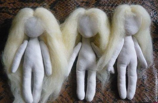 Человечки ручной работы. Ярмарка Мастеров - ручная работа. Купить Гномочка- голышка 10 см. Handmade. Бежевый, куколка голышка