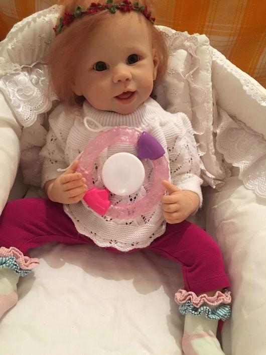 Куклы-младенцы и reborn ручной работы. Ярмарка Мастеров - ручная работа. Купить Кукла DeeDee. Handmade. Реборн, белый, мохер