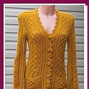 Пуловеры ручной работы. Ярмарка Мастеров - ручная работа Кофта пуховая , кофточка вязаная ажурная. Handmade.