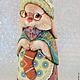 Подарки на Пасху ручной работы. Ярмарка Мастеров - ручная работа. Купить семейка пасхальных кроликов. Handmade. Салатовый, фиолетовый, подарок