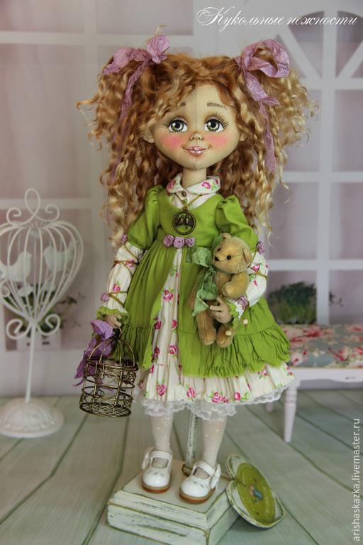 Коллекционные куклы ручной работы. Ярмарка Мастеров - ручная работа. Купить Василиса .Кукла авторская текстильная .Кукла ручной работы .. Handmade.