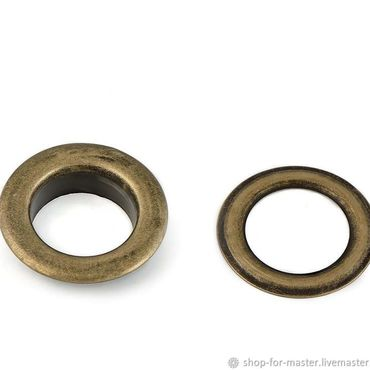 Materials for creativity handmade. Livemaster - original item Grommets large diameter 1,4 cm, color bronze. Handmade.