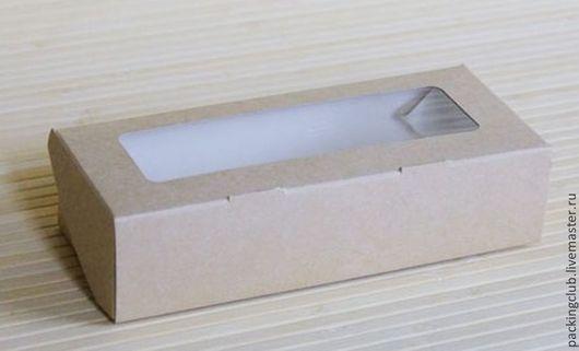 Упаковка ручной работы. Ярмарка Мастеров - ручная работа. Купить Коробка контейнер ЭКО 170х70х40мм. Handmade. Серый, упаковка для подарка