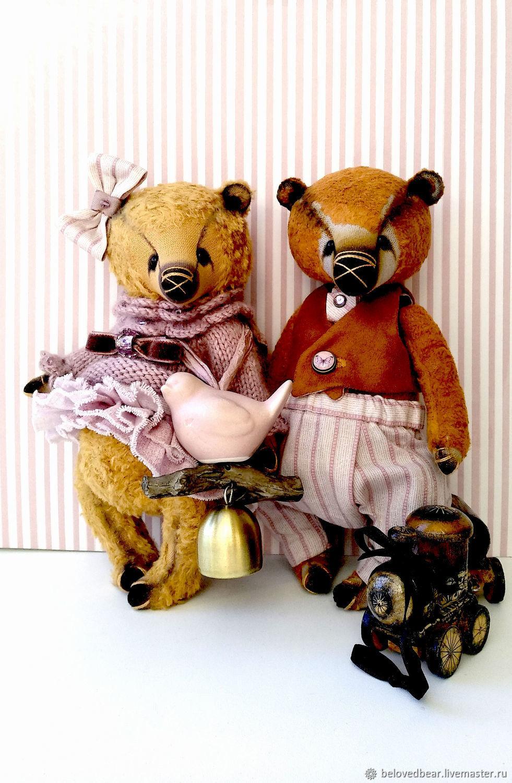 Мадлен и Эжен с игрушками, Мягкие игрушки, Москва,  Фото №1