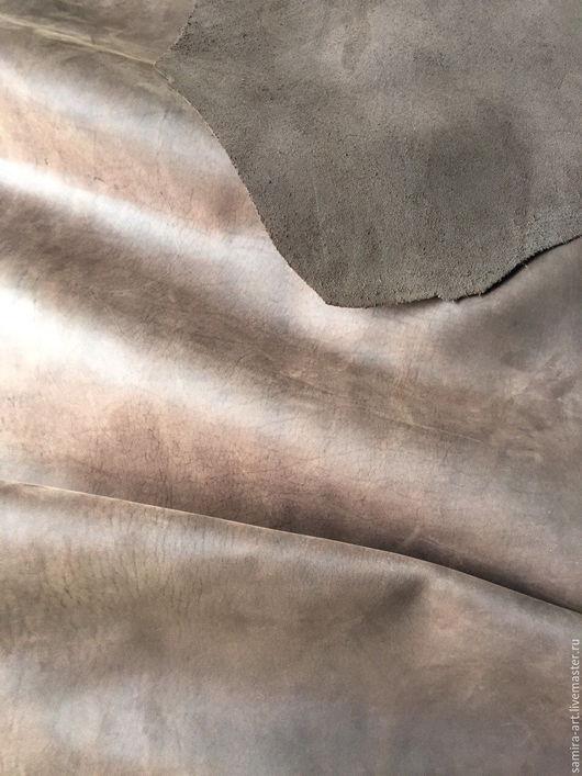 Шитье ручной работы. Ярмарка Мастеров - ручная работа. Купить Кожа.1.6-1.8мм.CrazyHorse (шоколад) Италия. Handmade.