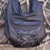 """Сумки и аксессуары ручной работы. Ярмарка Мастеров - ручная работа """"Акко"""" сумка из натуральной кожи. Handmade."""