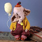 Тедди Зверята ручной работы. Ярмарка Мастеров - ручная работа Тедди слоник. Друзья тедди. Тедди слон. Слоник игрушка. Handmade.