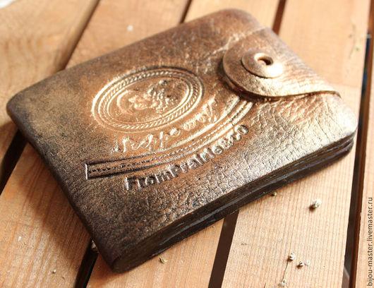 Персональные подарки ручной работы. Ярмарка Мастеров - ручная работа. Купить Мужское сувенирное мыло ПОРТМОНЕ. Handmade. Черный