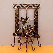 Для дома и интерьера ручной работы. Ярмарка Мастеров - ручная работа Ключница романтика у окна. Handmade.