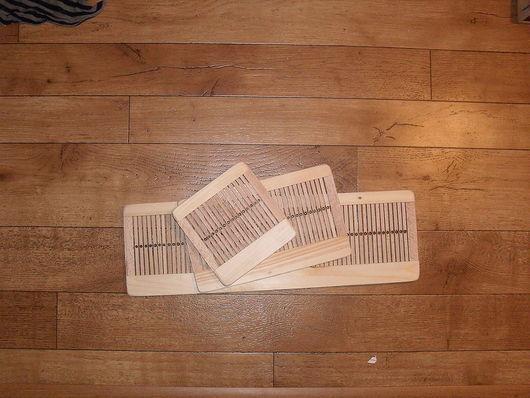 Другие виды рукоделия ручной работы. Ярмарка Мастеров - ручная работа. Купить Бердо для ручного ткачества. Handmade. Бердо, бук