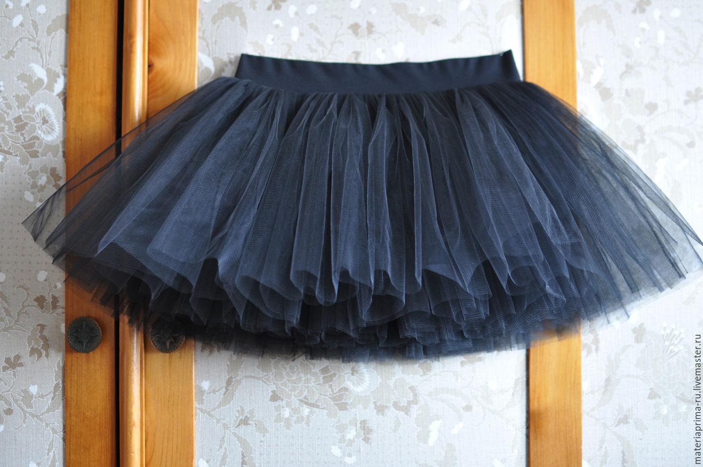 Купить короткую юбку с фатина