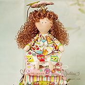 Куклы и игрушки ручной работы. Ярмарка Мастеров - ручная работа Принцесса на горошине Совушка. Handmade.