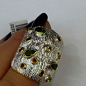 Украшения handmade. Livemaster - original item Ring silver 925 , natural stones.. Handmade.