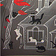 Зонты ручной работы. Зонт Дня Кошек. Ihelen. Интернет-магазин Ярмарка Мастеров. Кот, черное и белое, зонты с росписью