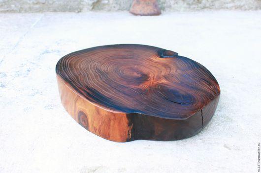 Кухня ручной работы. Ярмарка Мастеров - ручная работа. Купить Доска из масличного (олива) дерева для сервировки стола.(27,5х23). Handmade.