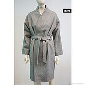 Одежда handmade. Livemaster - original item The coat is smeared/ Max Mara wool. Handmade.