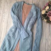Одежда handmade. Livemaster - original item Cashmere knitted cardigan (cashmere). Handmade.