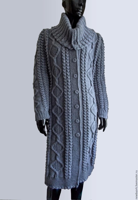 что разговоры вязаное пальто на вязальной машине фото фото