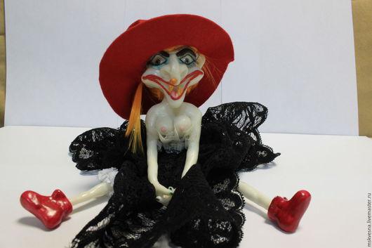 Коллекционные куклы ручной работы. Ярмарка Мастеров - ручная работа. Купить Баба Яга Ядвига. Handmade. Баба яга