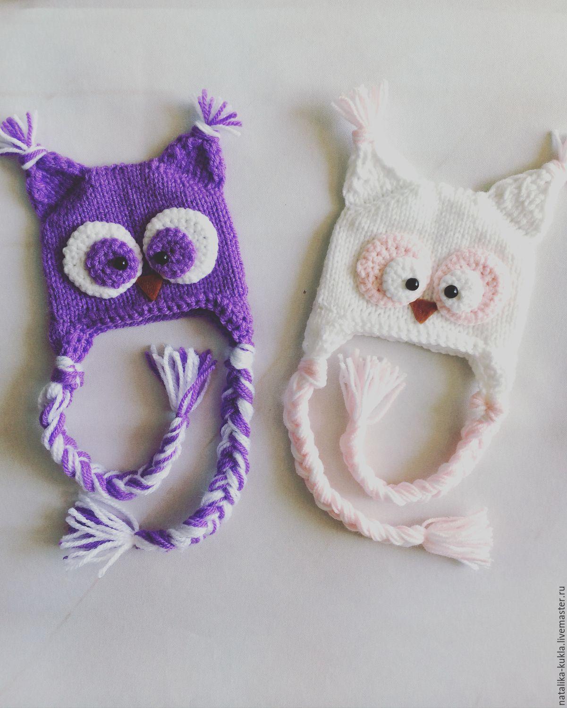 Шапочка-сова для куклы, Одежда для кукол, Владимир,  Фото №1