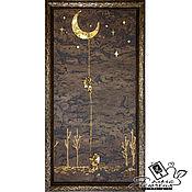 "Картины и панно handmade. Livemaster - original item Copy of Copy of Copy of Panels made of cork ""Sailor». Handmade."