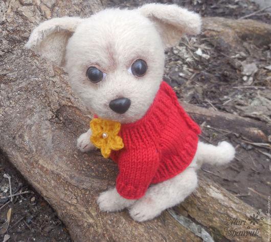 Игрушки животные, ручной работы. Ярмарка Мастеров - ручная работа. Купить Джесси - щенок чихуахуа (вязаная игрушка). Handmade. щеночек