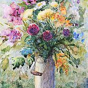 Картины и панно handmade. Livemaster - original item Wildflowers. Watercolor. Handmade.