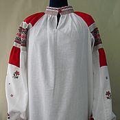 Народные рубахи ручной работы. Ярмарка Мастеров - ручная работа Рубашка-рукава,старинный крой. Handmade.