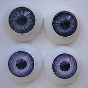 Материалы для творчества handmade. Livemaster - original item Doll eyes 20 mm. Handmade.