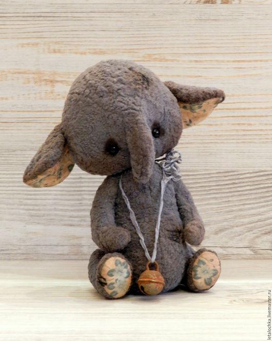 Мишки Тедди ручной работы. Ярмарка Мастеров - ручная работа. Купить Слоник Джанни. Handmade. Авторская ручная работа, синий