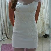 Свадебный салон handmade. Livemaster - original item Wedding dress mini. Handmade.