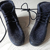 Обувь ручной работы. Ярмарка Мастеров - ручная работа Валяные ботиночки. Ручная работа.. Handmade.