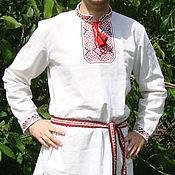 Русский стиль handmade. Livemaster - original item Men`s embroidery