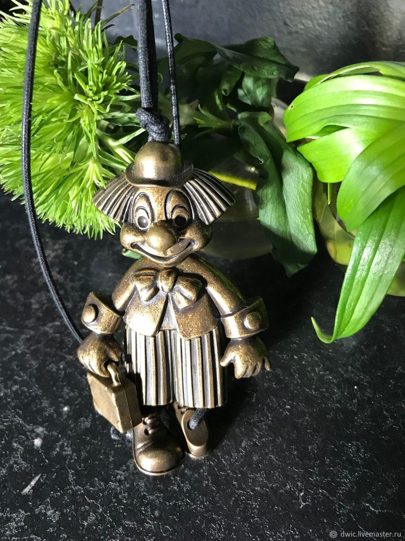 Pendant 'Clown', The Netherlands, Vintage accessories, Arnhem,  Фото №1