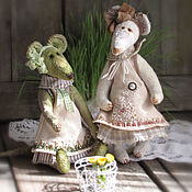 Куклы и игрушки handmade. Livemaster - original item Rats and mice. Primroses.. Handmade.