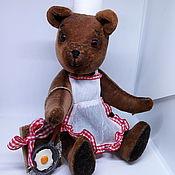"""Куклы и игрушки ручной работы. Ярмарка Мастеров - ручная работа Игрушка """"Мишка -поваренок"""". Handmade."""