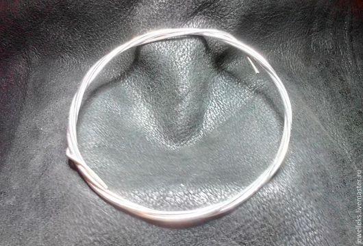 Для украшений ручной работы. Ярмарка Мастеров - ручная работа. Купить Проволока, серебро 925 проба. Диаметр 1,5 мм.. Handmade.