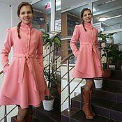 Одежда ручной работы. Ярмарка Мастеров - ручная работа Демисезонное женское пальто. Handmade.