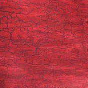 Материалы для творчества ручной работы. Ярмарка Мастеров - ручная работа Хлопок Красный. Handmade.
