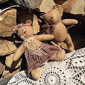 Куклы и игрушки ручной работы. Ярмарка Мастеров - ручная работа Кофейные Мишки. Handmade.